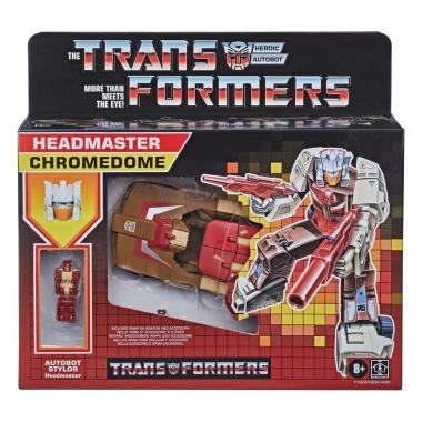 Transformers Generations Deluxe Retro Headmasters (Wave 1) Chromedome 14 cm