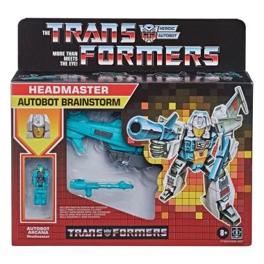 Transformers Generations Deluxe Retro Headmasters (Wave 1) Autobot Brainstorm 14 cm