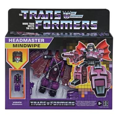 Transformers Generations Deluxe Retro Headmasters (Wave 1) Mindwipe 14 cm