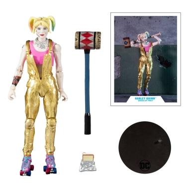 DC Multiverse Action Figure Harley Quinn (Birds of Prey) 18 cm