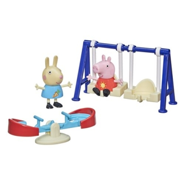 Peppa Pig Peppa's Moments Outside Fun Playset 7.5 cm