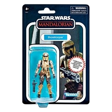 Star Wars The Mandalorian Vintage Collection Carbonized Action Figure 2021 Shoretrooper 10 cm