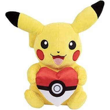 Pokémon - Jucarie de plus Pikachu cu inimioara 20 cm