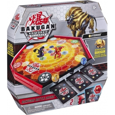 Bakugan arena de lupta armored alliance cu figurina Hydorus inclusa