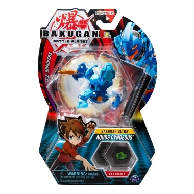 Bakugan bila ultra aquos cyndeous knight blue