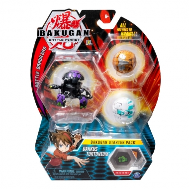 Bakugan pachet start - Darkus Turtonium