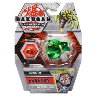 Bakugan S2 Basic Barbetra cu card Baku-Gear