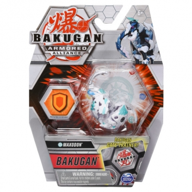 Bakugan S2 Basic eroul Maxodon cu card Baku-Gear