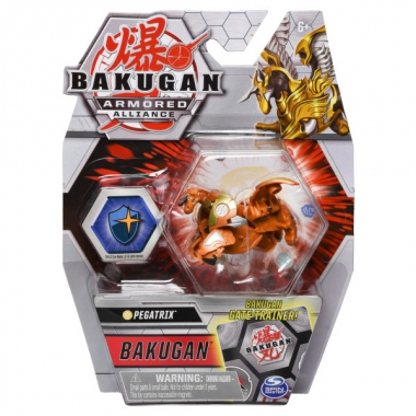 Bakugan S2 Basic Golden Pegatrix cu card Baku-Gear
