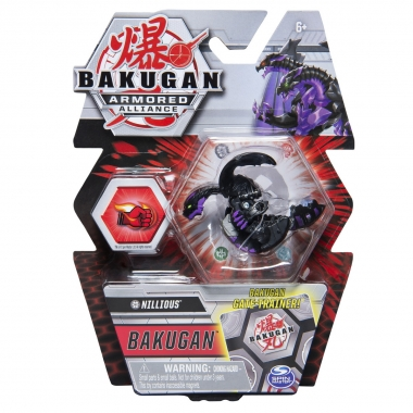 Bakugan S2 Basic Nillious cu card Baku-gear