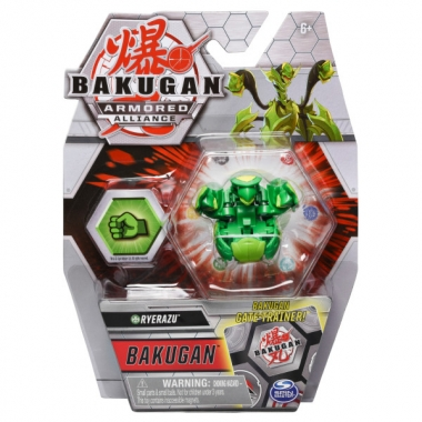 Bakugan S2 Basic Ryerazu cu card Baku-Gear
