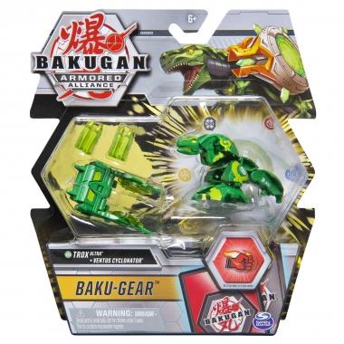 Bakugan S2  Ultra Trox cu echipament Baku-gear Ventus Cyclonator