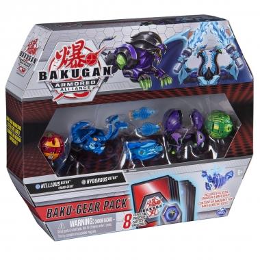 Bakugan S2 set de lupta Ultra Hydorous si Nillious cu Baku-gear