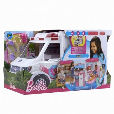 Barbie - set clinica mobila
