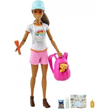 Papusa Barbie in drumetie 29 cm