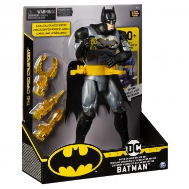 Batman Figurina Deluxe cu fraze si accesorii, 29 cm