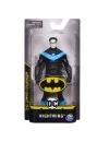 Figurina Nightwing cu costum negru 15 cm
