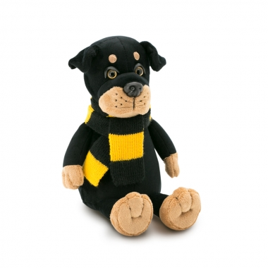 Bax, catelul rottweiler, din plus, 20cm (Orange Toys)