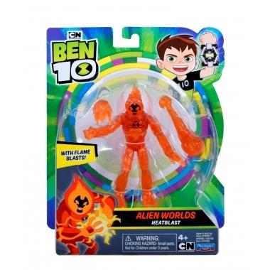 BEN 10 Figurina 12 cm Alien Worlds Heatblast