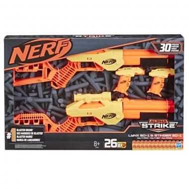 Blastere Nerf Alpha Strike 2 Lynx si 2 Stinger