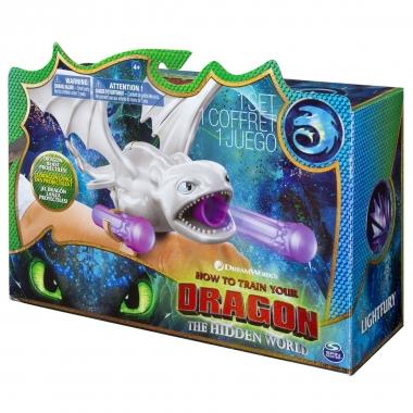 Dragon Furia Luminii cu lansator de proiectile