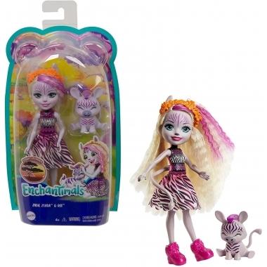 Enchantimals - set Zadie Zebra & Ref 15 cm