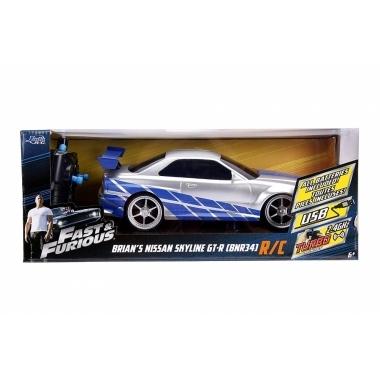 Fast and Furious RC Nissan Skyline GTR scara 1:16
