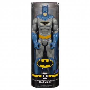 Figurina Batman cu capa albastra 30 cm