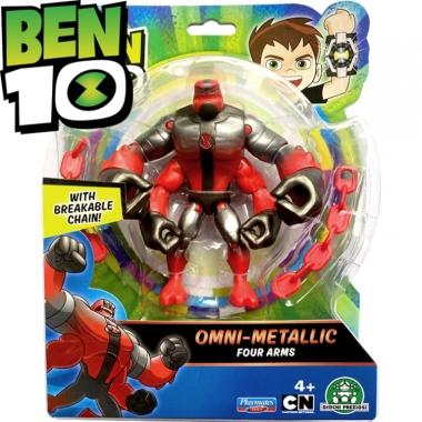 Figurina Ben 10 Metallic Four Arms 12cm