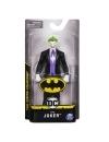 Figurina Joker cu costum negru si manusi albe 15 cm