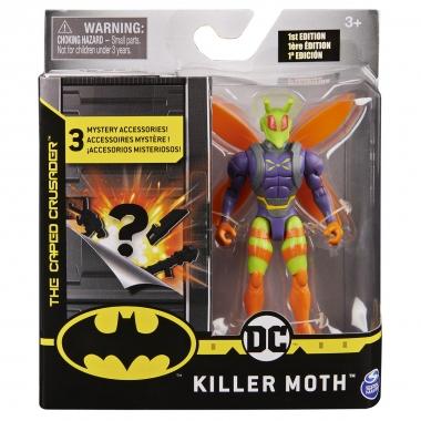 DC Universe, Figurina Killer Moth 10cm cu 3 accesorii surpriza