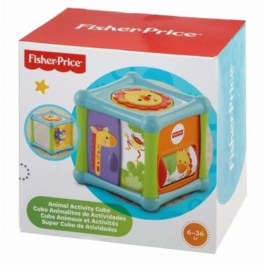 Fisher Price - Cub de activitati cu animale