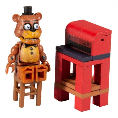 Five Nights at Freddy's Micro Construction Set, Parts and Services (50 piese) (noiembrie)