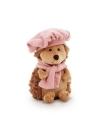 Fluffy, ariciul cu bereta si fular, din plus, 15cm