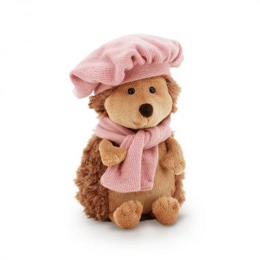Fluffy, ariciul cu bereta si fular, din plus, 25cm