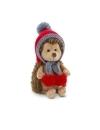 Fluffy, ariciul cu fes rosu, din plus, 20cm