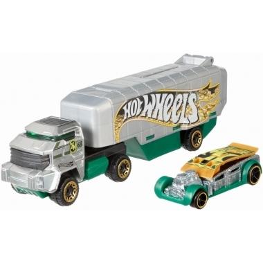Hot Wheels set camion si masina Bank Roller