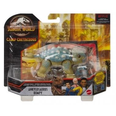 Jurassic World Attack Pack dinozaur articulat Ankylosaurus Bumpy 17 cm