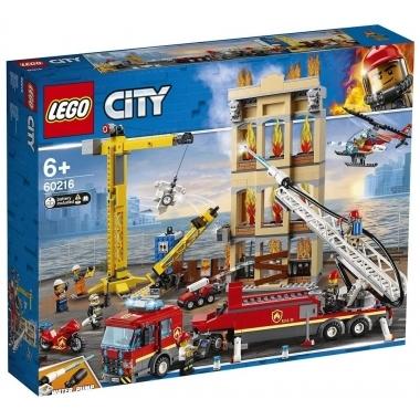Lego City - divizia pompierilor din centrul orasului 60216