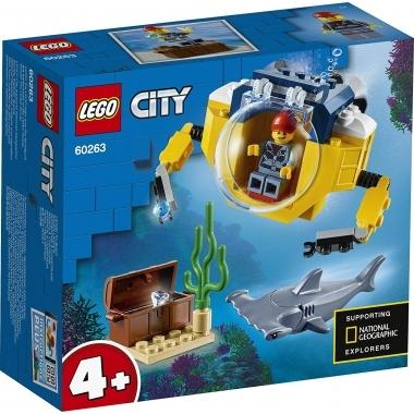 Lego City  minisubmarin oceanic 60263