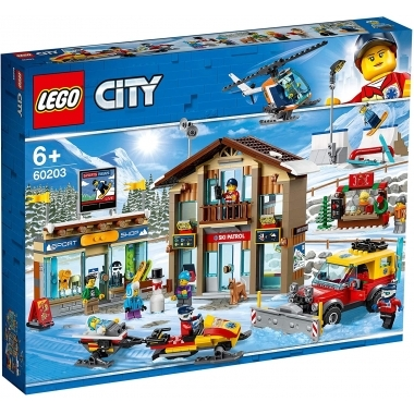 Lego City - statiunea de schi 60203