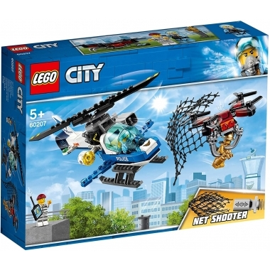 Lego City - urmarirea cu drona a politiei aeriene (60207)