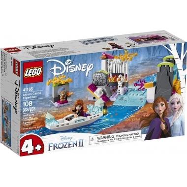 Lego disney expeditia annei cu canoe 41165