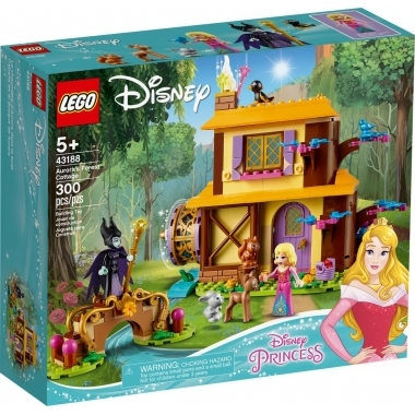 Lego Disney Princess  - Aurora's forest cottage 43188