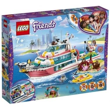 Lego Friends - barca pentru misiuni de salvare 41381