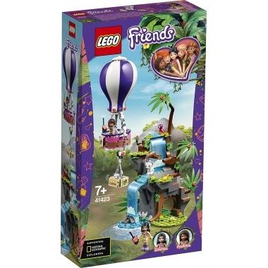 Lego Friends - salvarea tigrului din jungla cu balonul de aer cald 41423