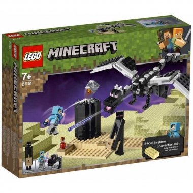 Lego Minecraft The Final Battle 21151