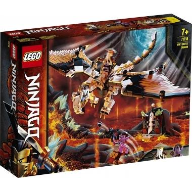 Lego Ninjago - Dragonul de lupta al lui Wu 71718