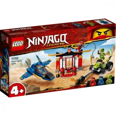 Lego Ninjago - intrecere cu avionul de lupta 71703