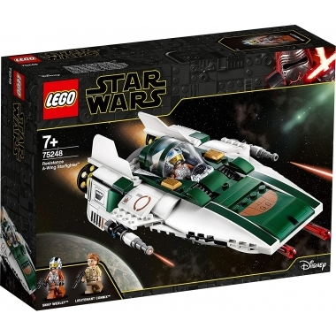 Lego Star Wars - Resistance A-Wing Starfighter 75248